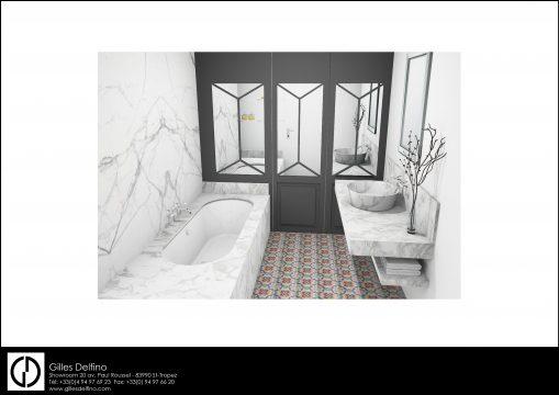 Salle de bains Master - 791