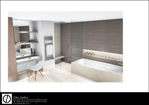 Salle de bains Master - 844